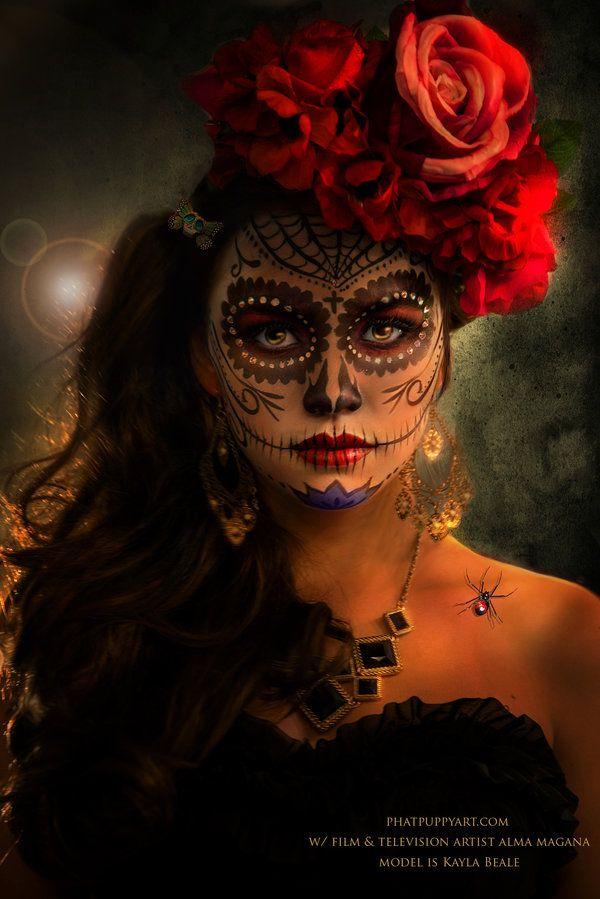 Dia de los Muertos 2014 by Phatpuppyart-Studios.deviantart.com on @DeviantArt