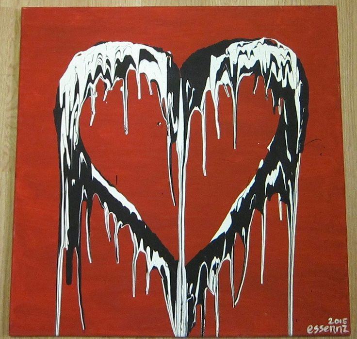 Bleeding Heart by EssennzGallery on Etsy