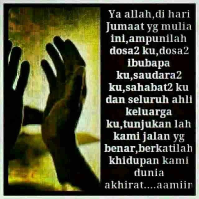 Doa di pagi jumaat..30 mei 2015..30 rejab 1435