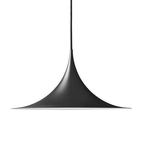 Semi Pendelleuchte Ø 47cm - matt schwarz - Gubi