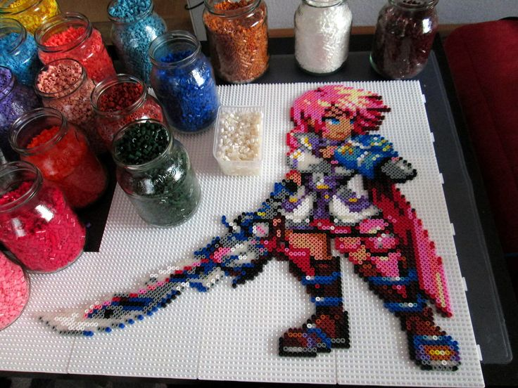 Based on the awesome sprite by Feel free to look at my Etsy shop:  www.etsy.com/shop/AenysBeadArt   Other shots: