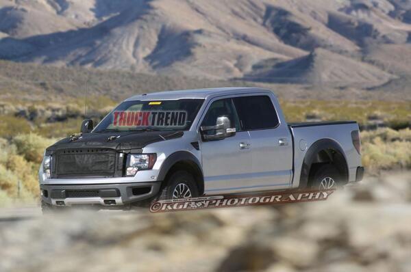 2016 Ford F-150 SVT silver grey color Raptor truck