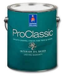 Proclassic Alkyd Interior Enamel On Kitchen Cabinets