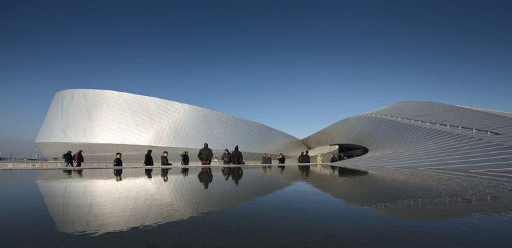 The Blue Planet aquarium in Copenhagen by 3XN
