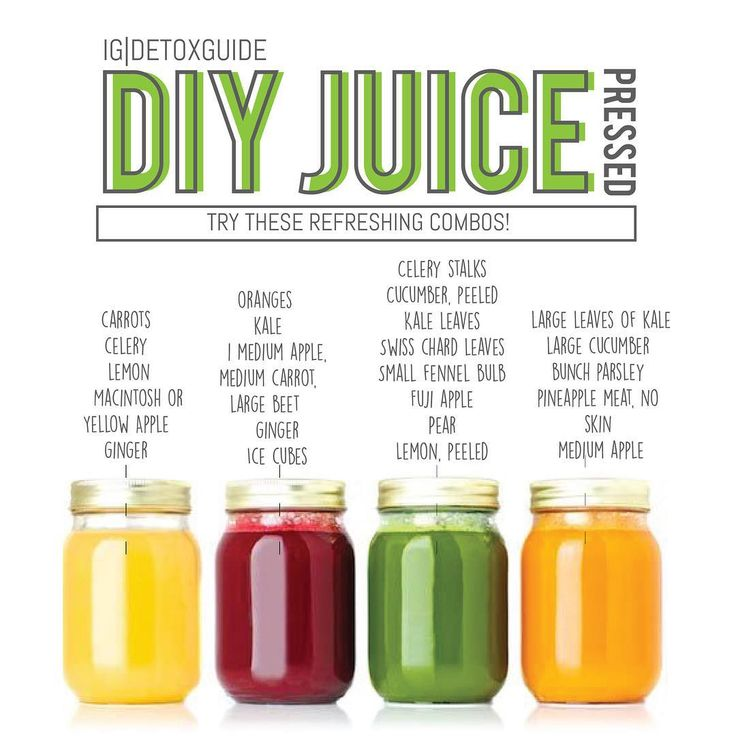 ?Here are some make awesome DIY cold press juice combos! Try these during your detox to get even ...