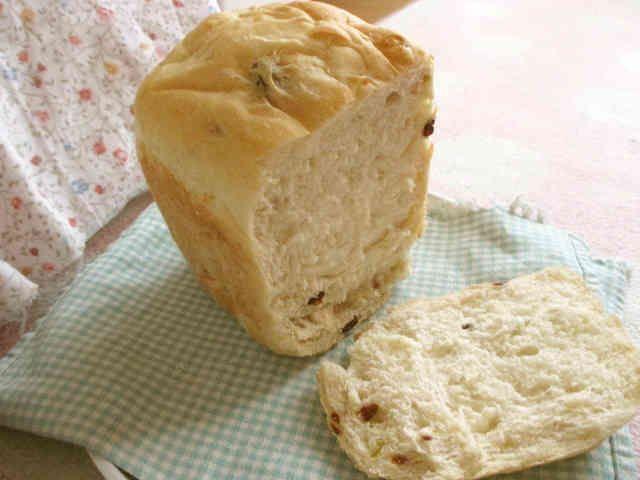 HB✿お蕎麦のゆで汁で食パンの画像