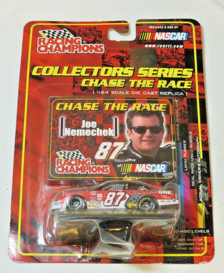 Nascar #87 Joe Nemechek Racing Champions Chase the Race 1:64 scale die cast car #RacingChampions #87