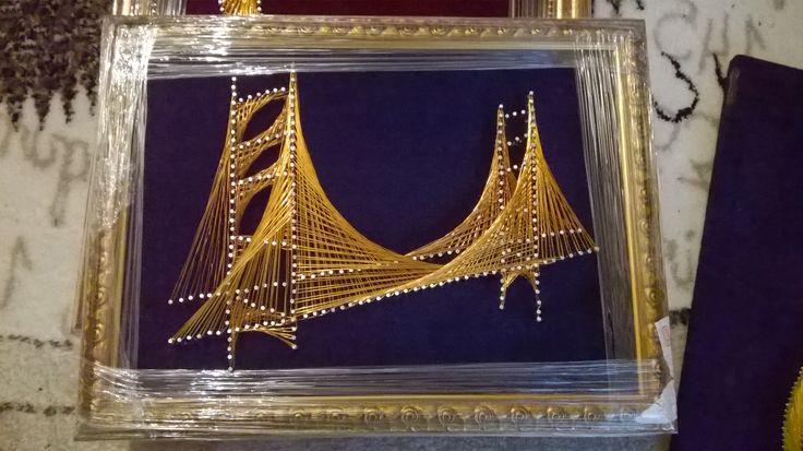 İstanbul Boğaz köprüsü Filografi çalışmam  100 TL