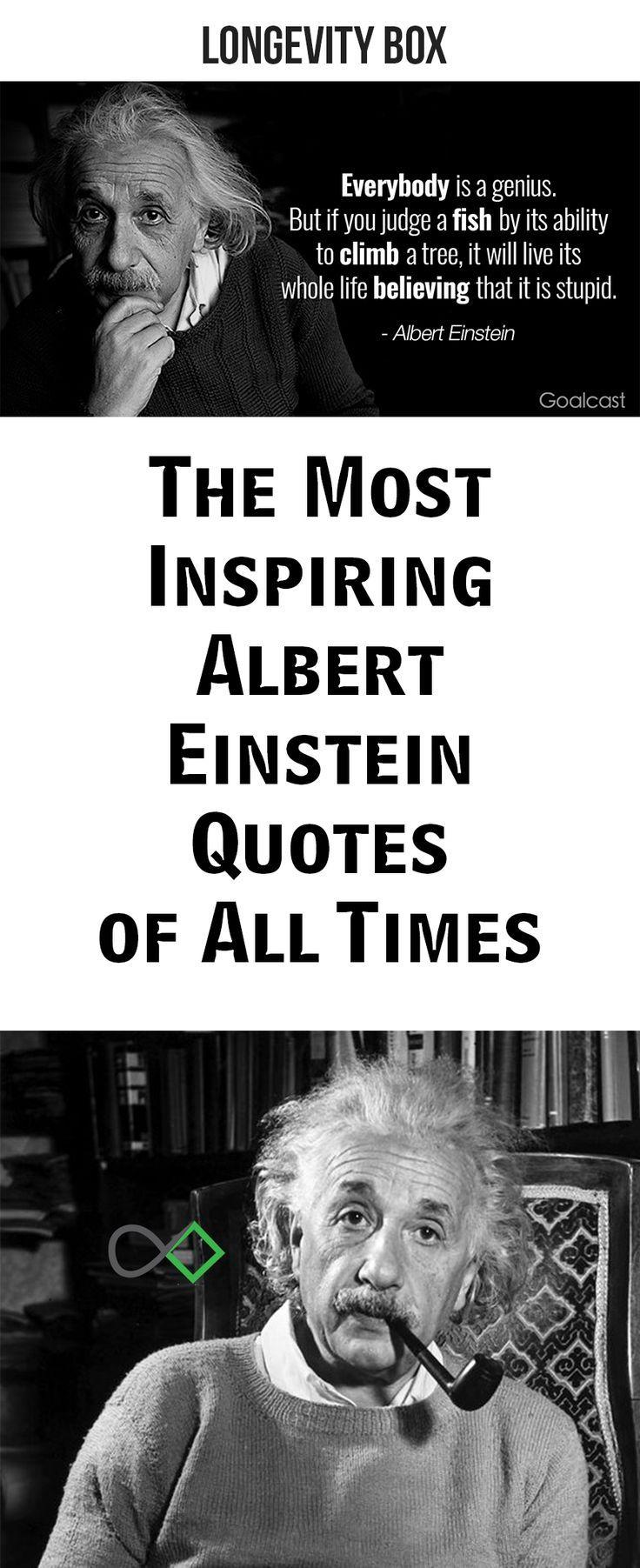Top 30 Most Inspiring Albert Einstein Quotes Life Stories By