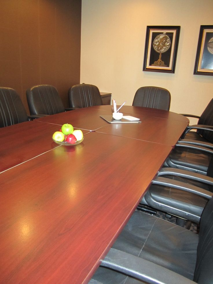 Our boardroom can accommodate up to 12 people at the Americana Resort
