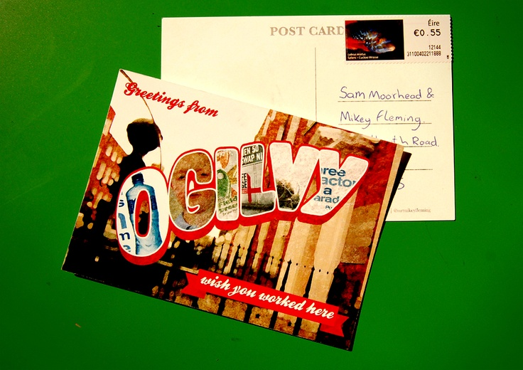 Self Promotion Postcards