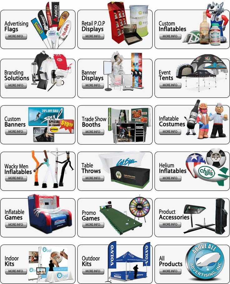 Inflatable Advertising, Retractable Banner, Pop Up Banner, signage solutions
