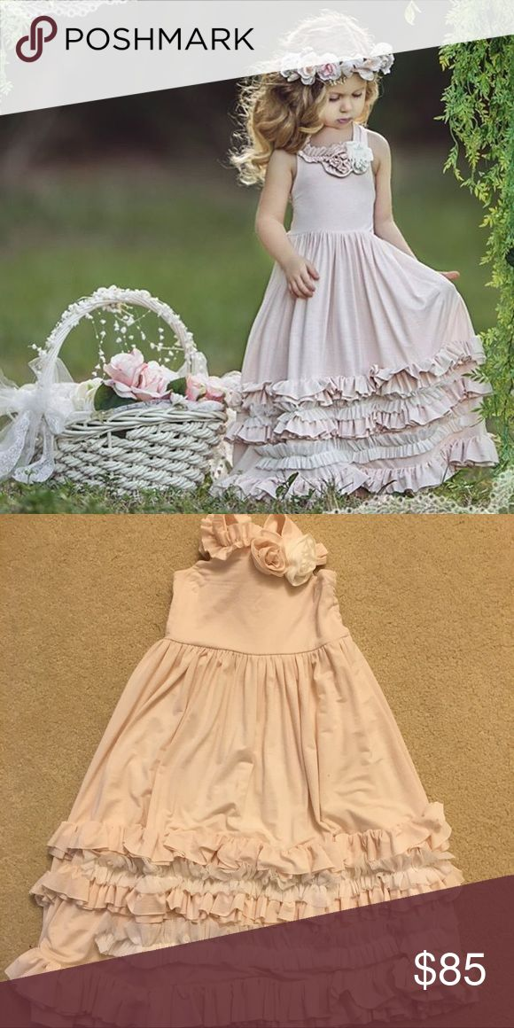 """Dollcake Sunday Rose Frock Dollcake """"Sunday Rose Frock"""" in size 3. Excellent pre-owned condition. Worn only once. Sold out and will not be restocked. Dollcake Dresses Formal"""