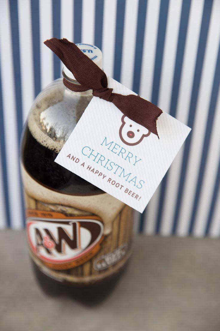 Cheap and Easy Christmas Neighbor Gift Idea and Printable Tag