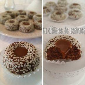 Gâteaux aux sésames et caramel