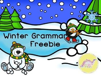 FREE Grammar can be such a tricky concept to teach students. I love finding grammar activities that are more than just drill. My students love to color, and I love anything that I dont need to prep so this activity makes everyone happy in my speech room! Enjoy!