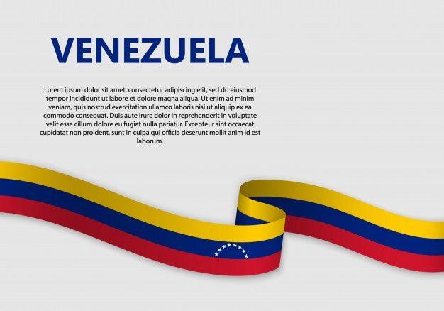 Waving Flag Of Venezuela Banner Bandera De Venezuela Bandera Venezuela