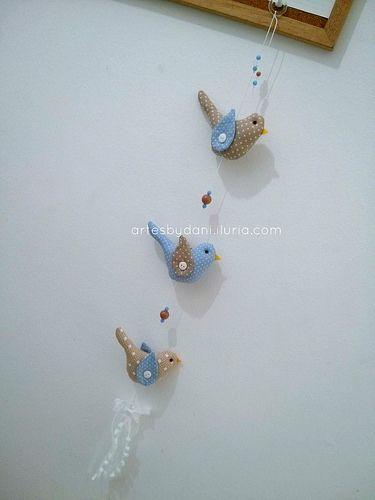 Móbile passarinhos