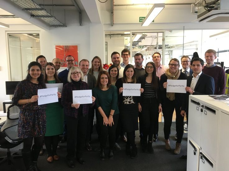 Happy #InternationalWomensDay from all of us at CNC Comms. Today we are pledging for #genderparity #PledgeForParity