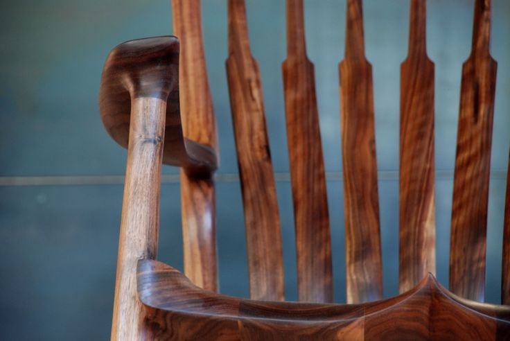 Close up Rocking Chair.