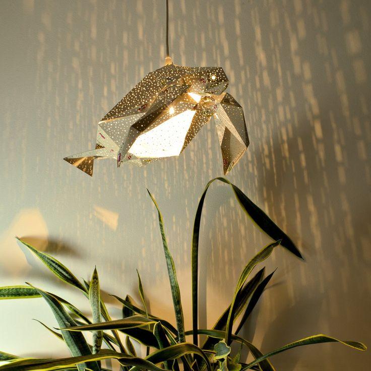 Sea Turtle Light Shade Grey - STUDIO POP OBJECT #studiopopobject #popobject #animallamp #seaturtle #turtle #origami #lamp #light #paper #paperlamp #handmade #madeofpaper  #lampdesign #lampshade #pendantlamp #lightingdesign #homedecor #minimaldesign #creativeminds #minimalistic #minimal #minimallove #interiordesign #nordicinspiration #scandinavianstyle #nordicdesign #childrenroom #kidsroom #kids #nurserydecor #nurserylamp