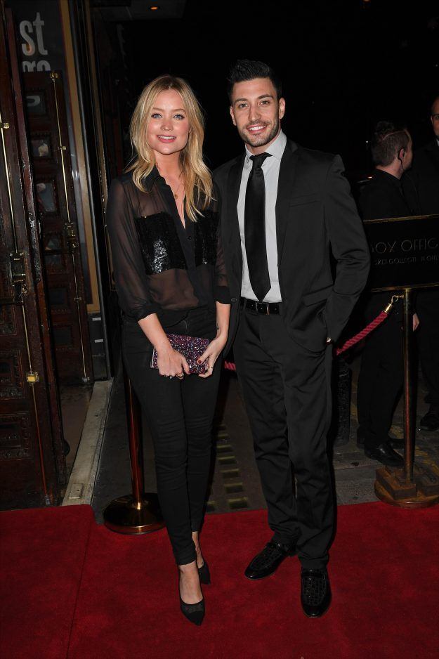 Laura Whitmore and Giovanni Pernice attend The Last Tango press night together | OK! Magazine