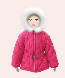 1222-02 куртка, утеплитель 100% ПЭ, фуксия 1150