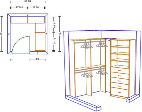 Building Walk In Closet | Free Armoire Wardrobe Closet Plans U2013 How To Build  A
