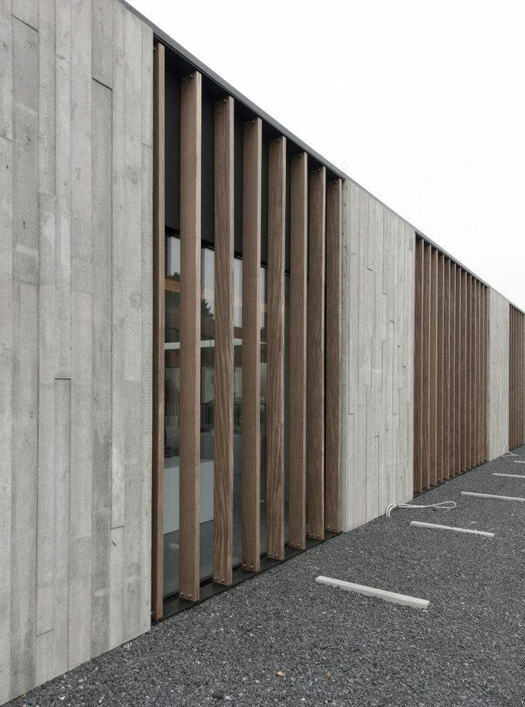 board-form concrete