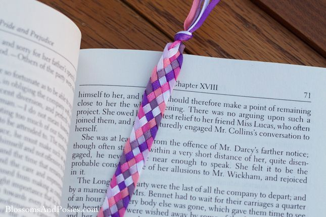 91 best images about diy projects to try on pinterest for How to tie a ribbon on a bookmark