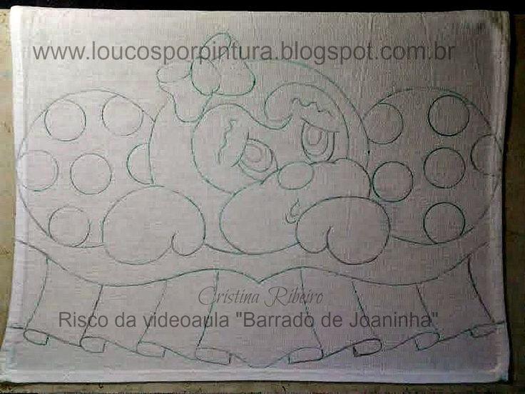"""Loucos por pintura : Videoaula """"Barrado Joaninha"""""""