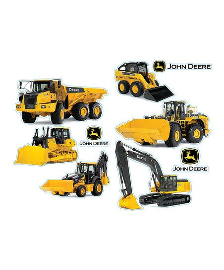 Let little tractor enthusiasts show their excitement for the big machines with this set of detailed, removable stickers.