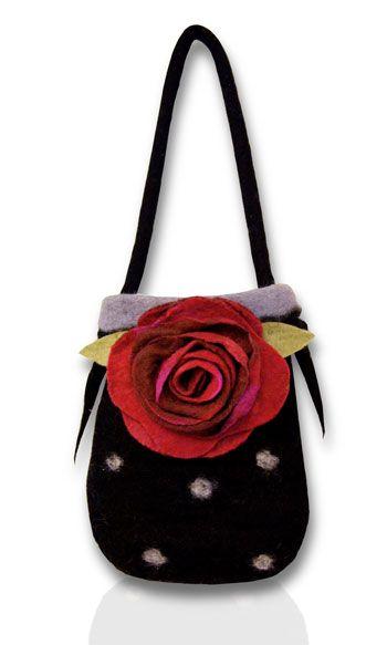 Ravishing Ruby Tuesday Bag - Feltmaking Kit