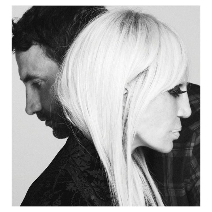 PREVIEW: Riccardo Tisci and Donatella Versace pose in Givenchy Fall 2015 Campaign