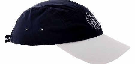 Stone Island Compass Baseball Cap Stone Island baseball cap featuring the Stone Island compass logo at the front in reflective silver. The visor is white whilst the cap itself is navy. The back features an elasticated adjuster. Colour http://www.comparestoreprices.co.uk/baseball-caps/stone-island-compass-baseball-cap.asp