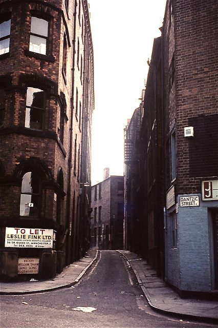 Well St, Withy Grove, Manchester, 1974