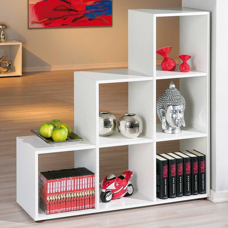 25+ best ideas about stufenregal on pinterest | bücherschrank ... - Wohnzimmer Regal Modern