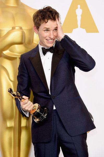Eddie Redmayne's Oscar Win