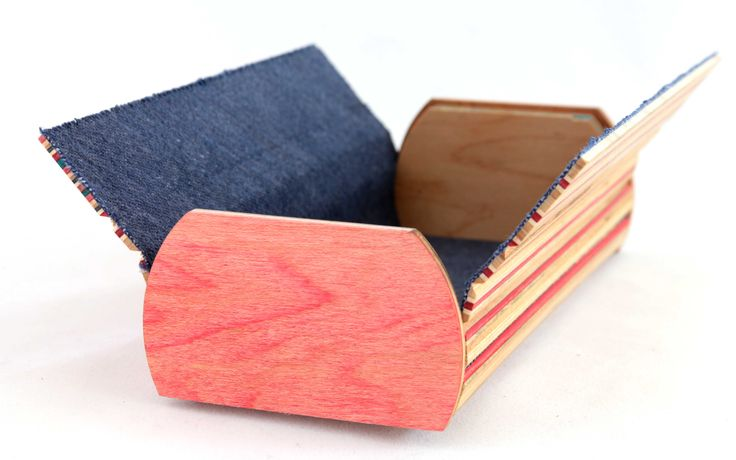 Wooden Sunglass case   Recycled wood hand made from used skateboards.