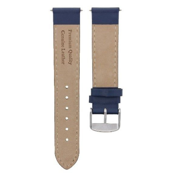 20MM SMOOTH LEATHER STRAP BAND FOR CHOPARD WS DARK BROWN #4