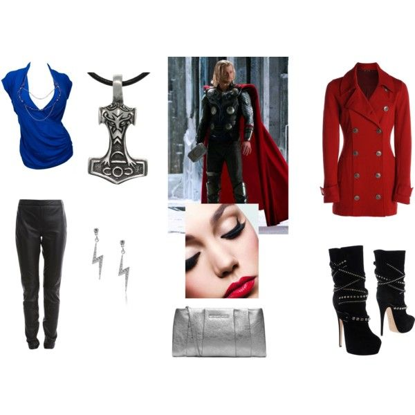 """Thor style"" by balsamoirene on Polyvore"