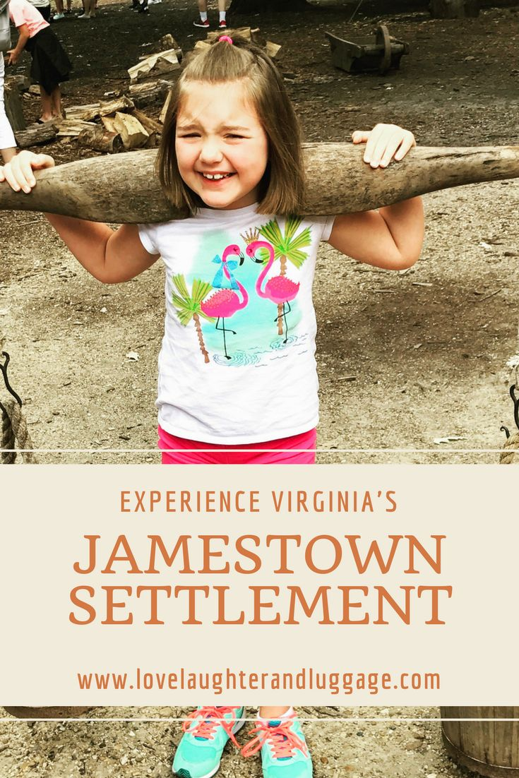If you're looking for a hands-on experience while learning the history of the first permanent English colonists in America, then visit the Jamestown Settlement in Virginia, USA.  Family trip, history, colonies, vacation, learning, east coast, American Revolution, Historic Triangle, Williamsburg.