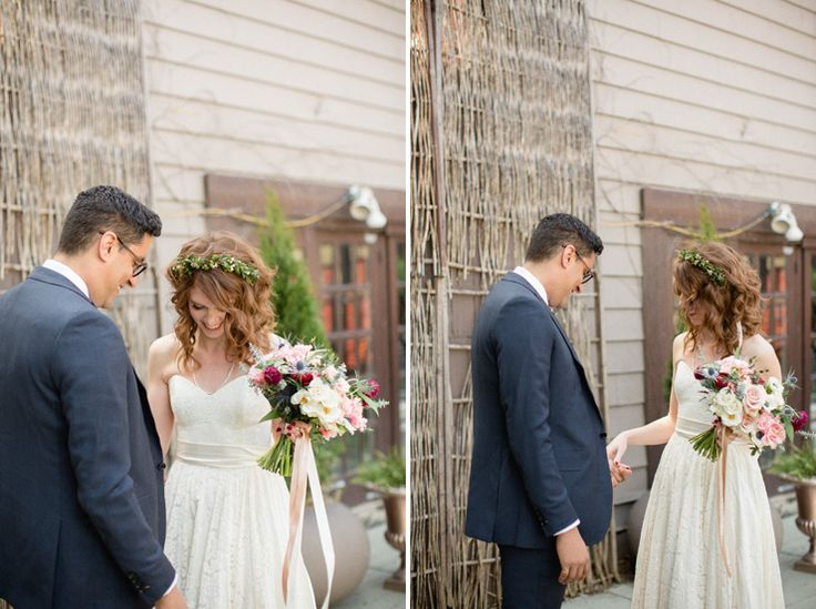 first look berkeley fieldhouse toronto - Berkeley Events Weddings - toronto wedding