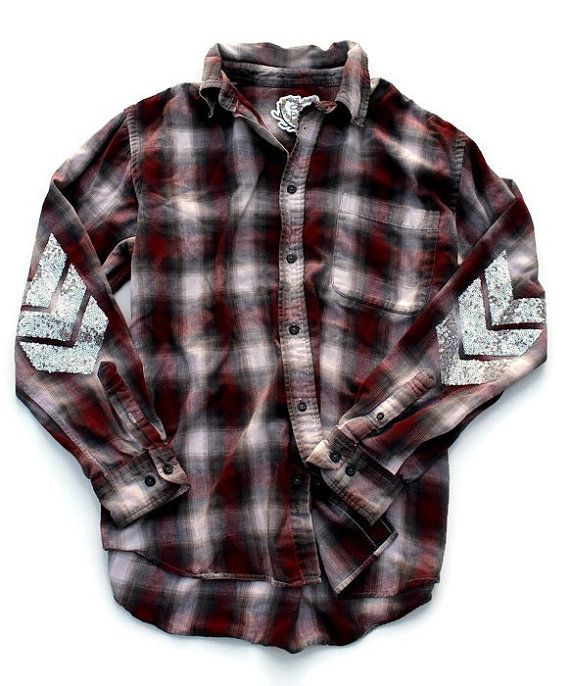 58 best cute flannel shirts 90s grunge hipster indie for Mens flannel shirt with elbow patches