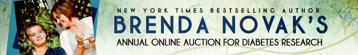 .@Vicki Batman ~ Brenda Novak's Online Auction for Diabetes Research May 1 - 31 includes moi!