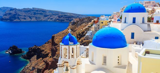 Croisière 5* en Grèce : 8 jours à 399€ en pension complète à Corfou, Santorin, Mykonos et Olympie
