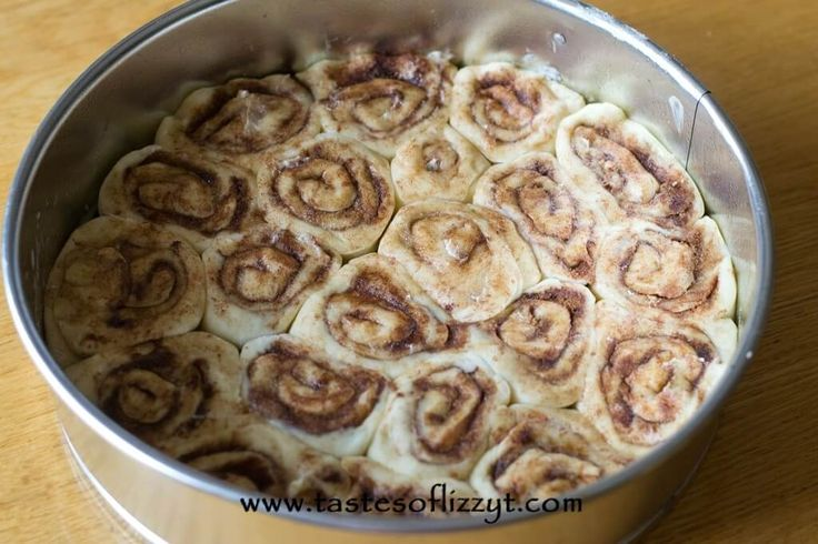 Cinnamon Roll Cheesecake {Tastes of Lizzy T}                                                                                                                                                                                 More