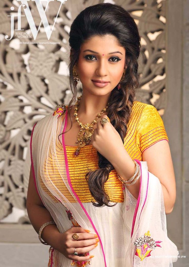 south indian party hairstyle - Google Search