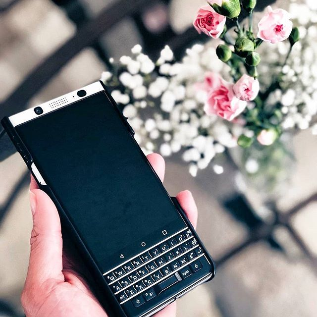 inst10 #ReGram @blackberryinsta: BlackBerry KEYone