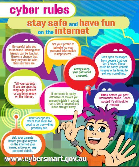 Social networking safety poster